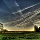 Chemtrails son estelas químicas que dejan los aviones