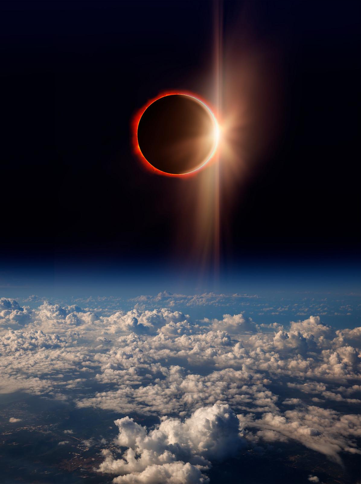 Un eclipse forzoso puede hacer aumentar la temperatura de la Tierra