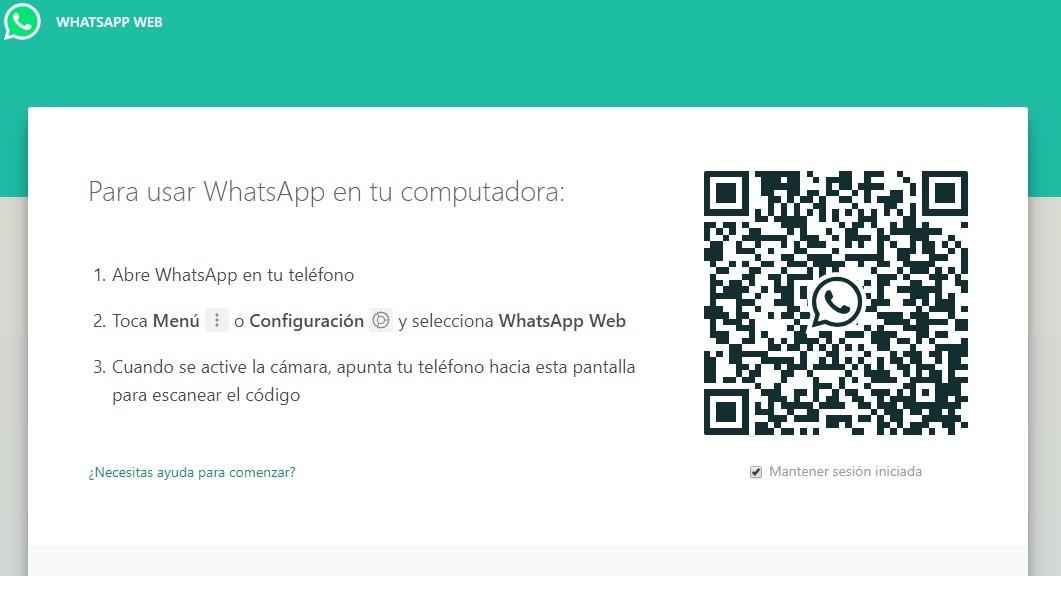 como utilizar whatsapp web navegador