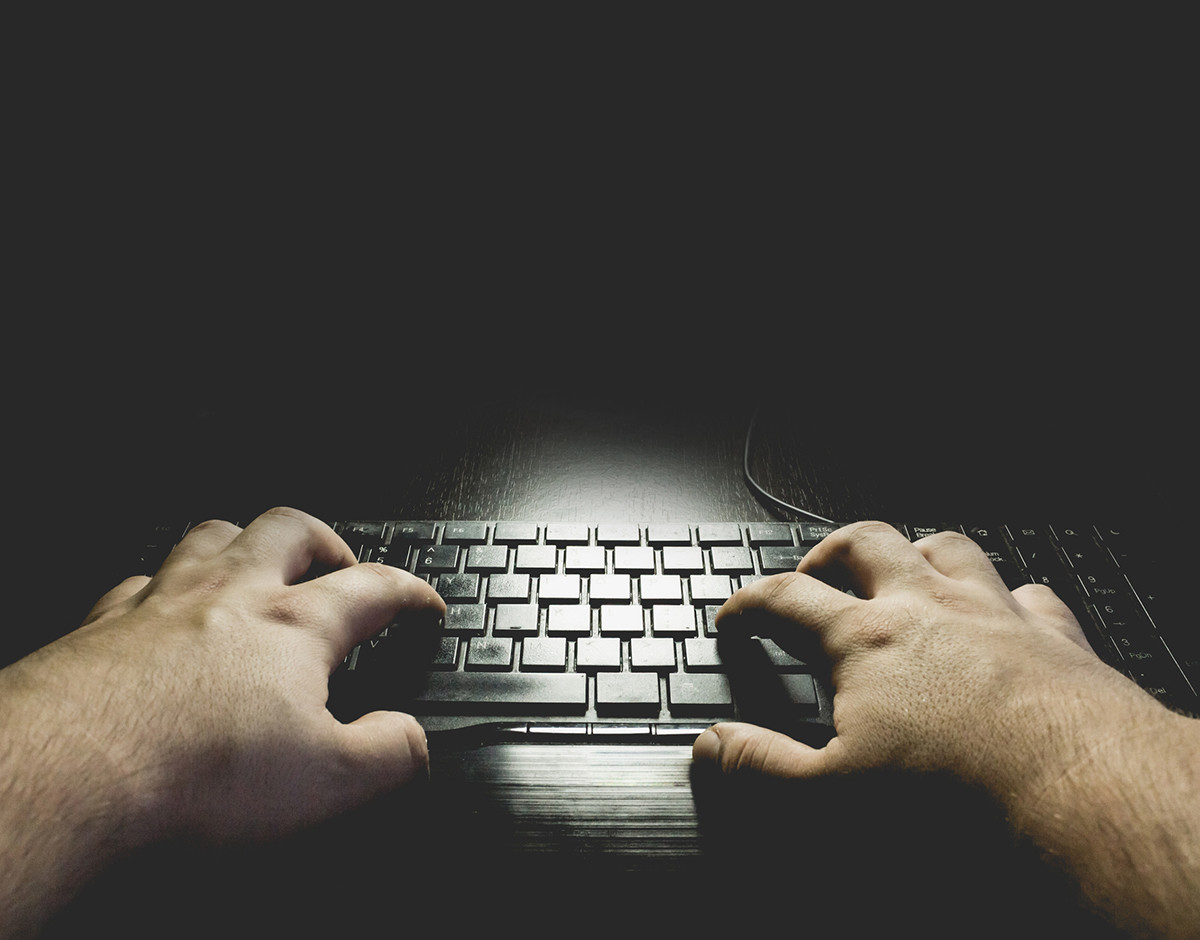miedo a la tecnologia teclado oscuro