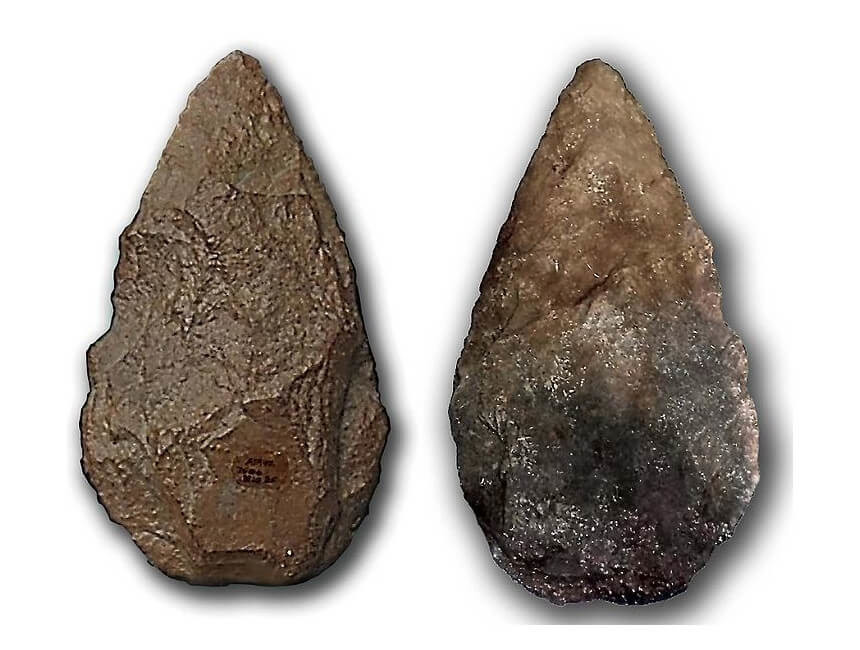 Piedras de rayo bifaz
