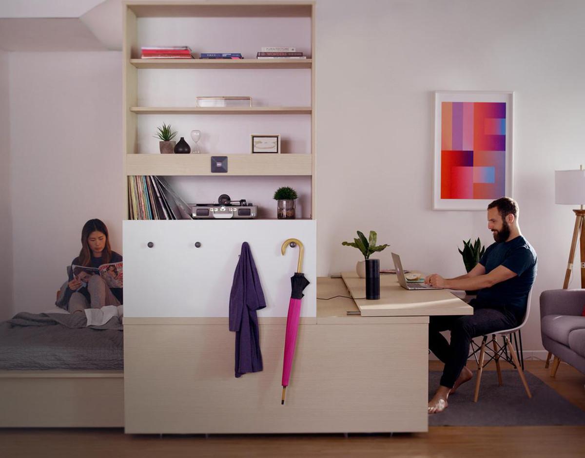tecnologia muebles roboticos vivienda domotizada