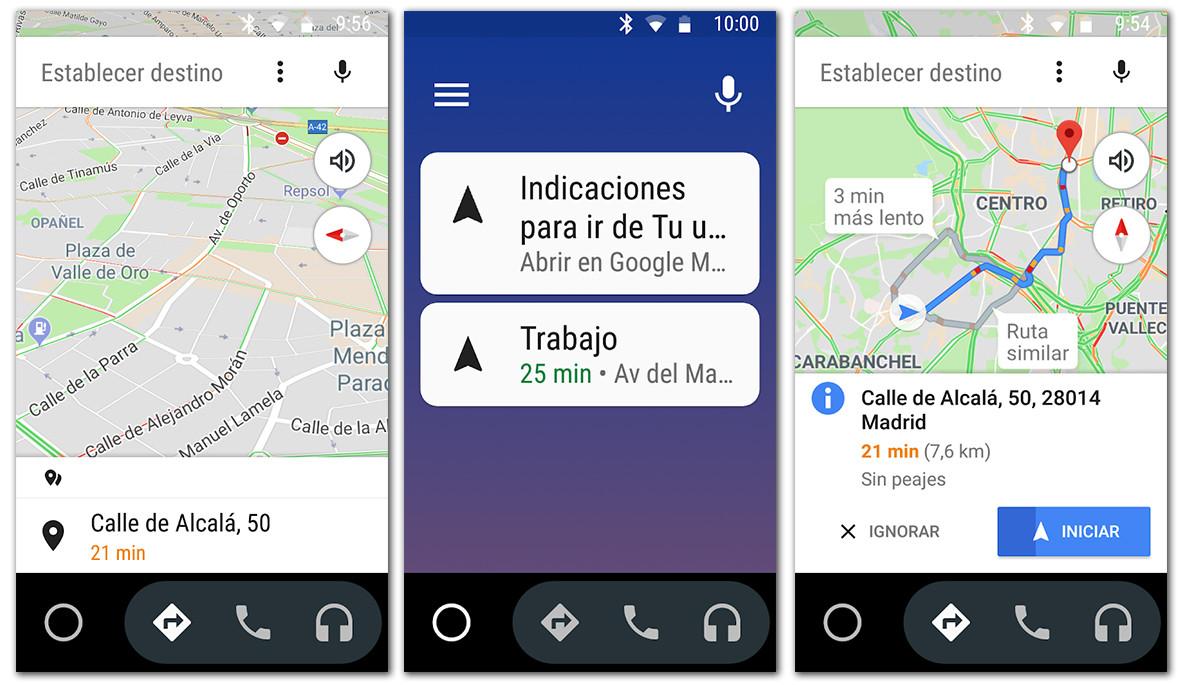 Cómo usar el navegador con Android Auto