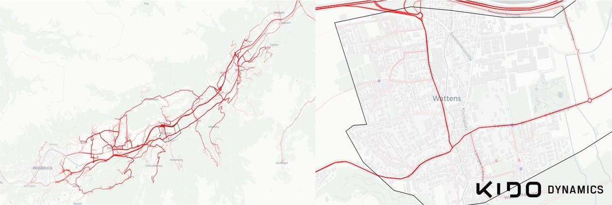 Kido Dynamics estudios de tráfico y contaminación