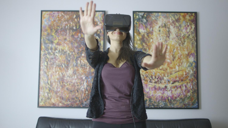 El tacto permite dar más realismo a las experiencias de realidad virtual.