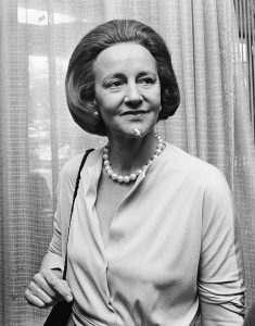 Katharine Graham. Imagen de Nationaal Archief, the Dutch National Archives. Wikipedia.