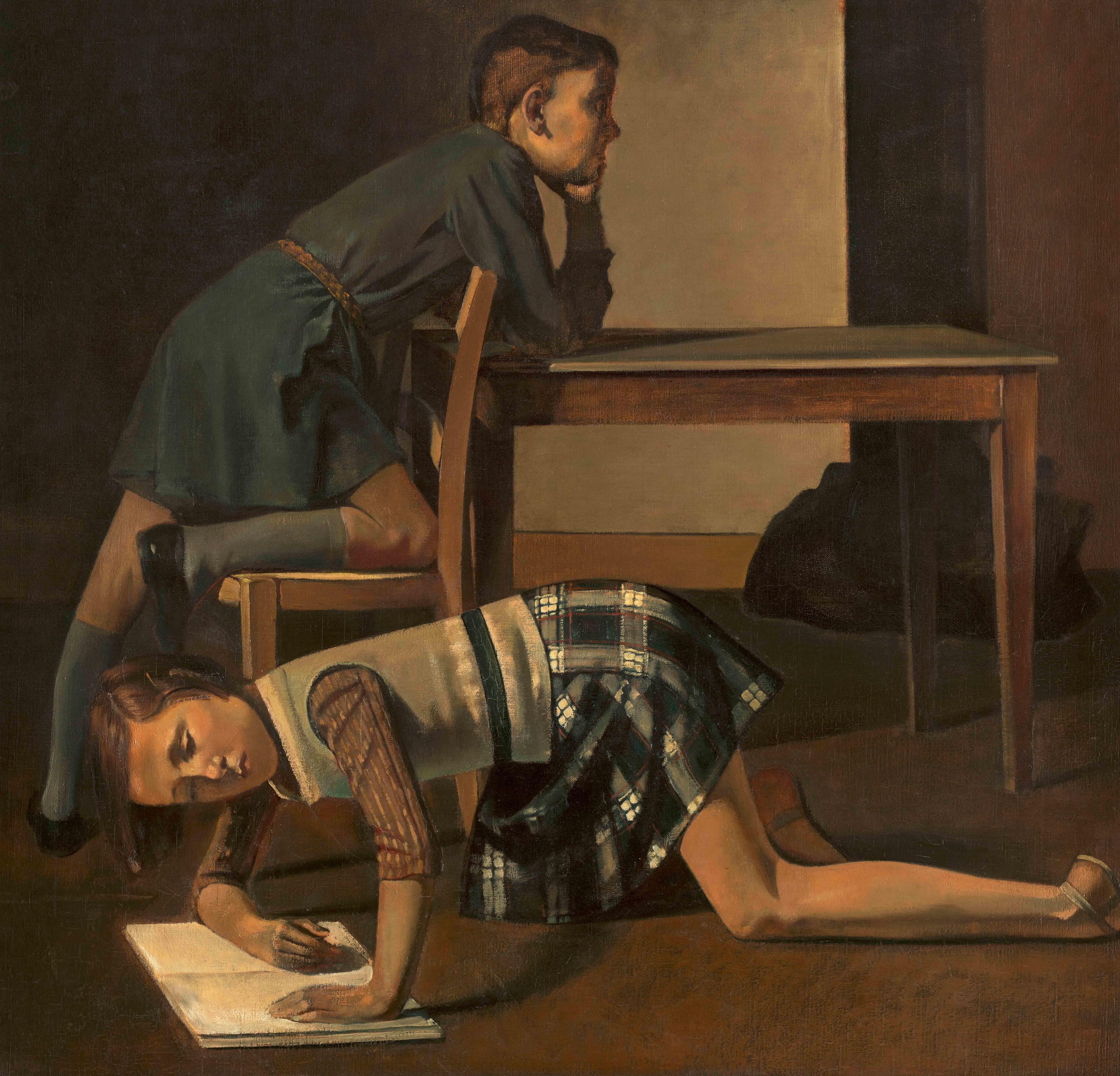 Los hermanos Blanchard (1937). Baltus