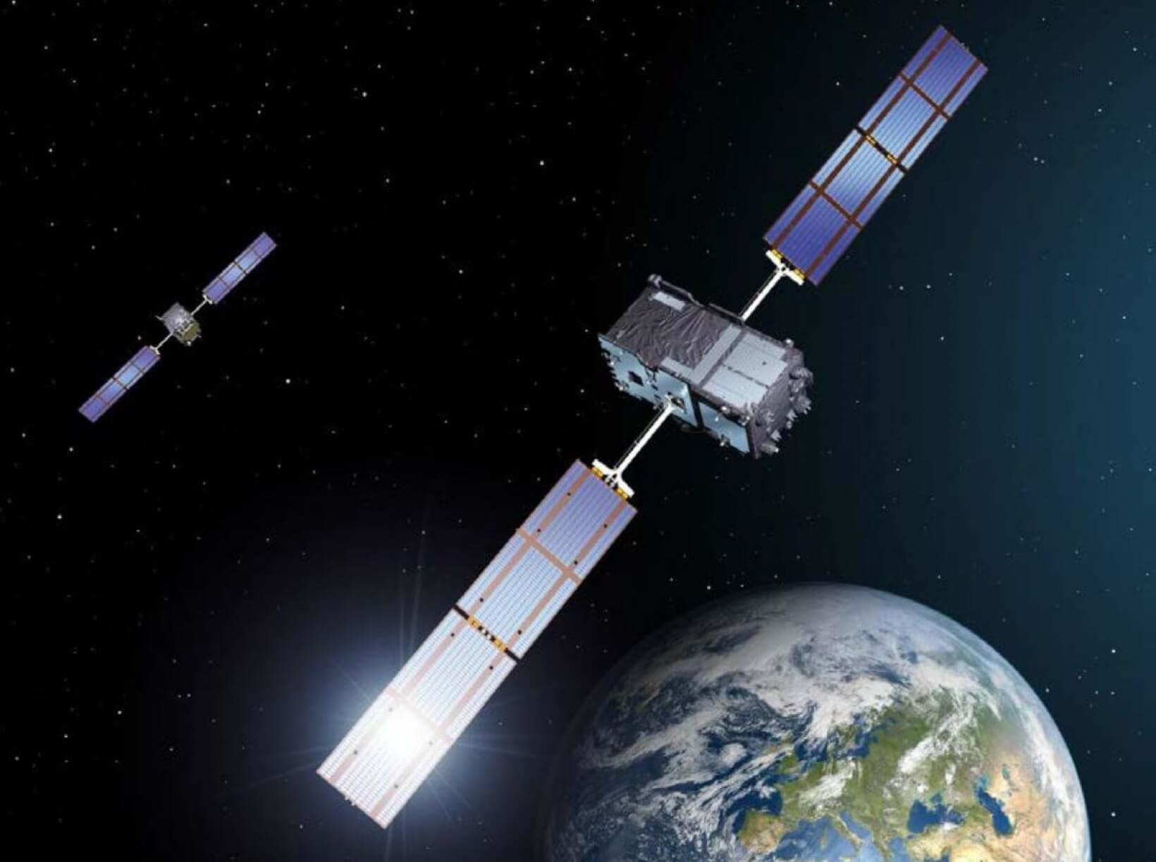 satélites Galileo y Einstein