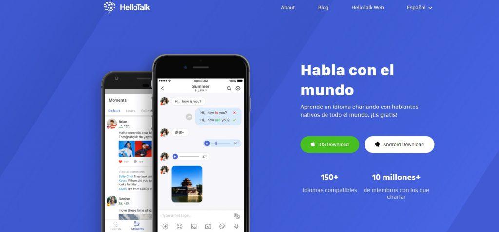HELLOTALK APRENDER IDIOMAS: apps para aprender idiomas