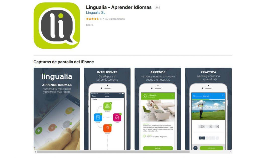 Lingualia: apps para aprender idiomas