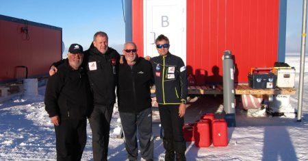 Equipo de la misión Antártida Inexplorada