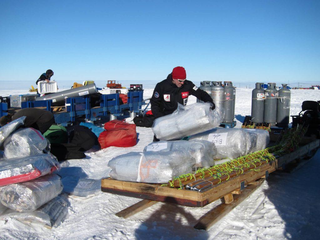 Expedición Antártida inexplorada