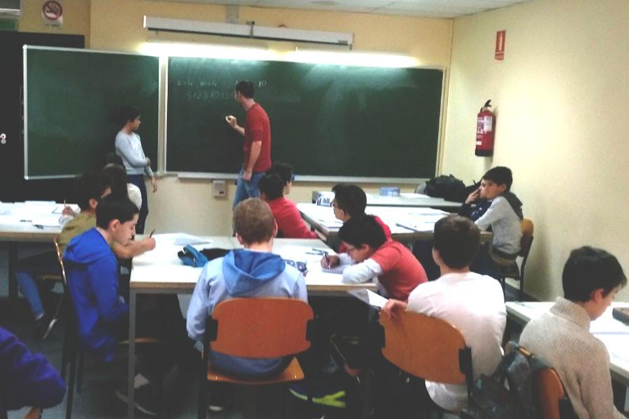aula matemáticas