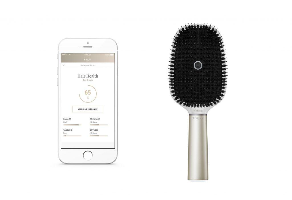 El cepillo conectado nos muestra información a través de una app.