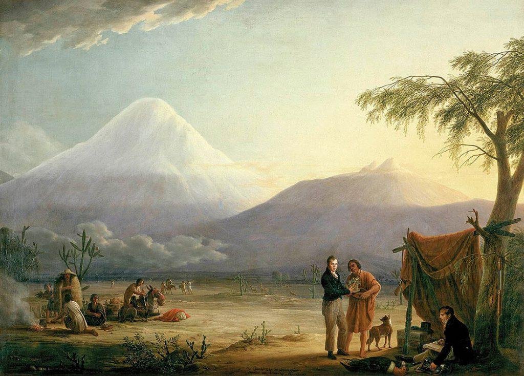 Humboldt viaje al chimborazo