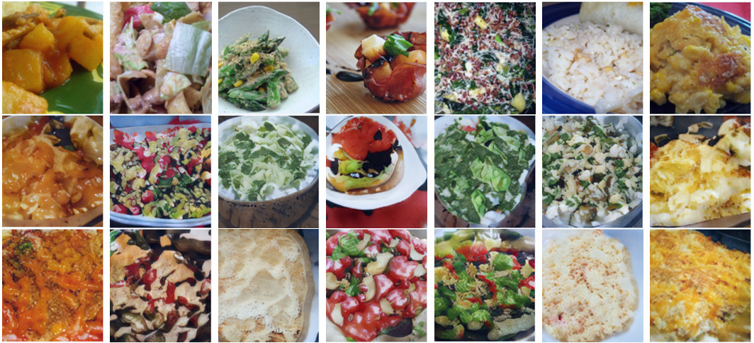 Estas imágenes han sido compuestas por una IA usando recetas