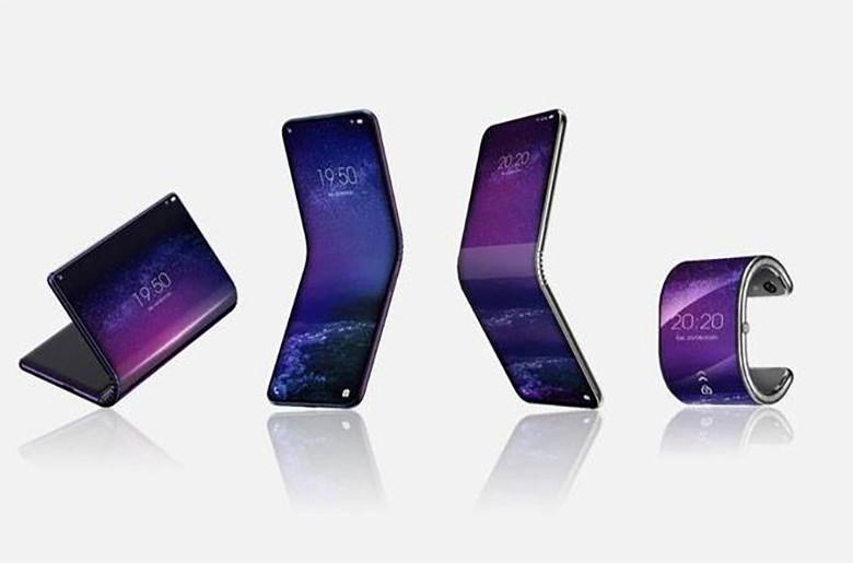 TCL smartphone flexible