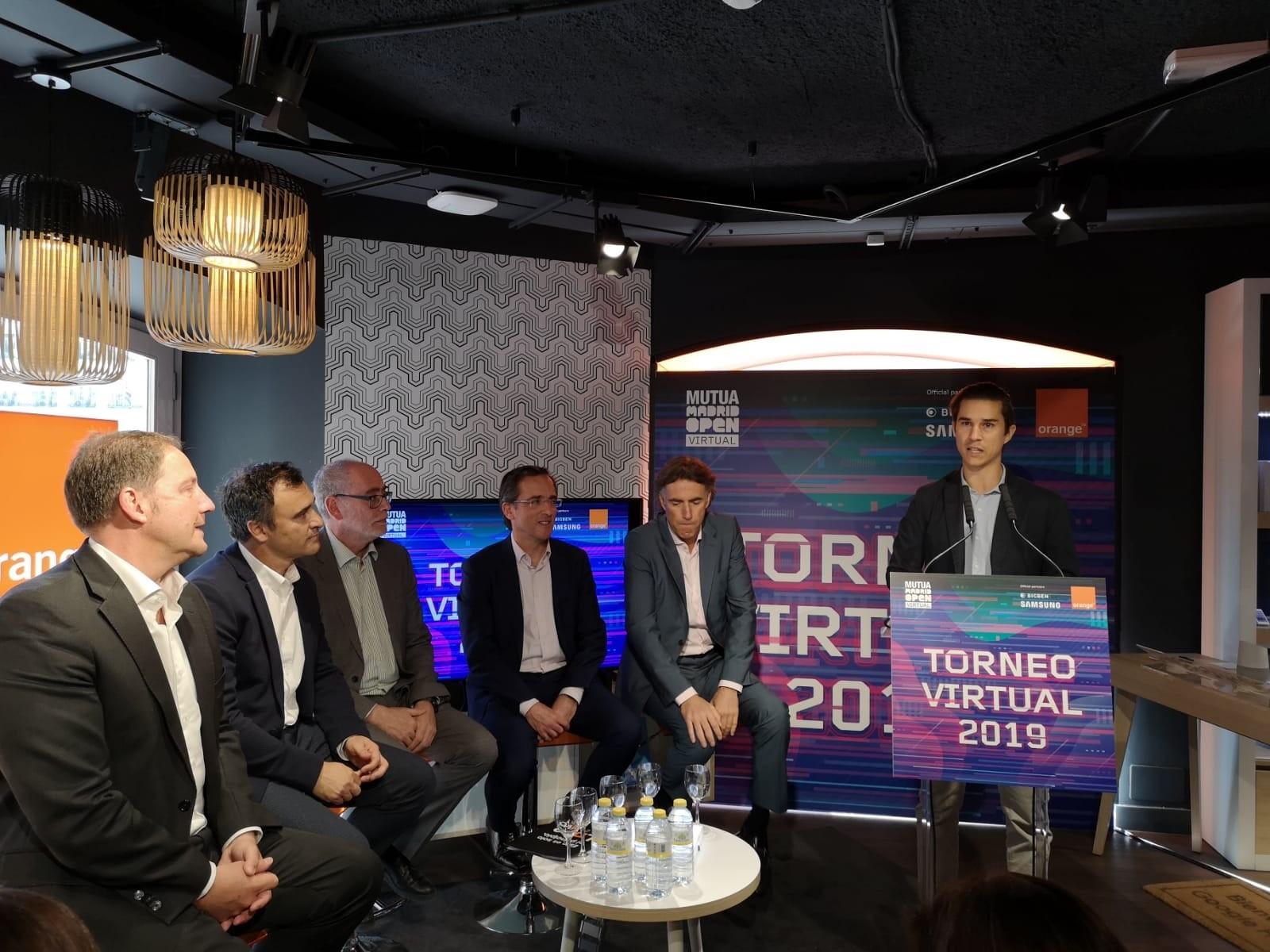 Acto de prensentación del Mutua Madrid Open en Madrid
