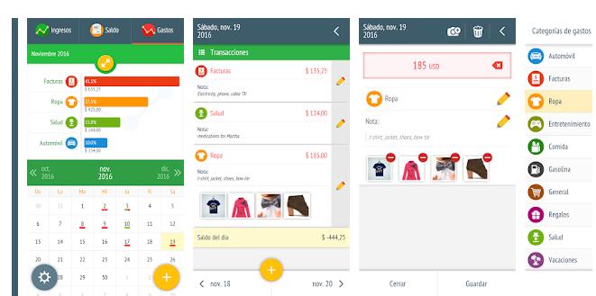 app para Android controlar gastos