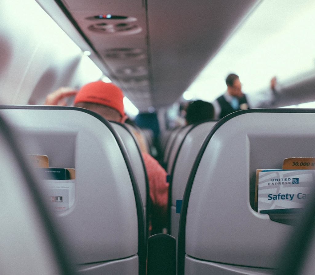 ¿Qué pasa en nuestro cuerpo cuando volamos en avión?