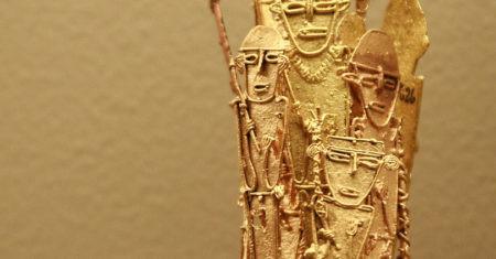 La leyenda de el Dorado hablaba de increíbles cantidades de oro.