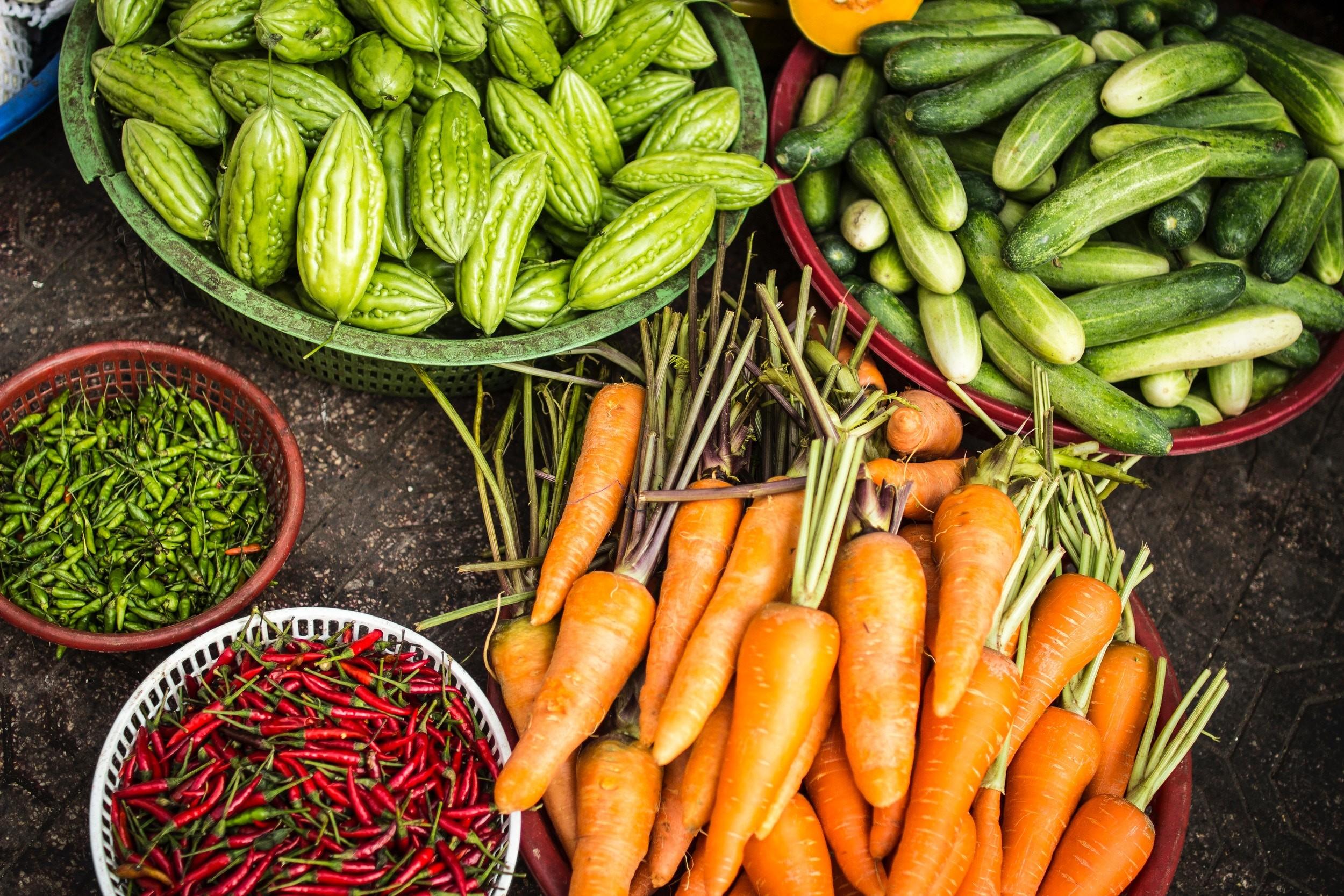 El sistema NOVA clasifica los vegetales en el Grupo 1