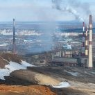 norilsk vista de la ciudad