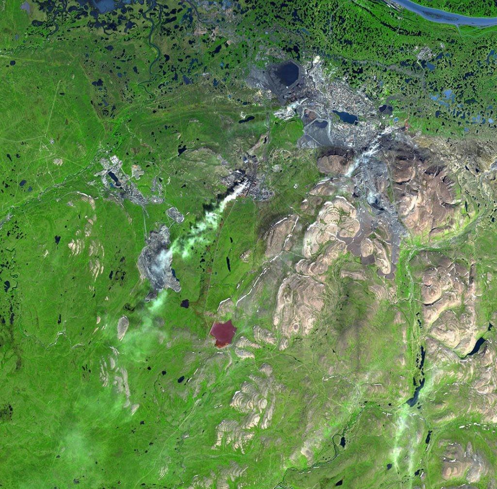contaminación en norilsk