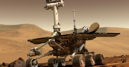 El robot rover Opportunity