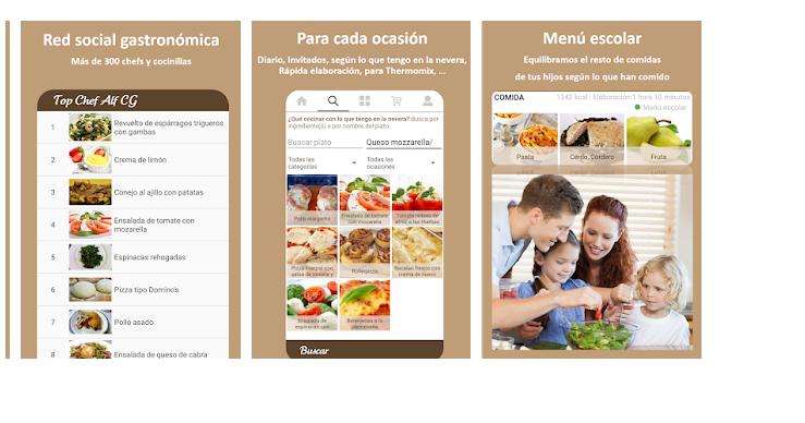 PLANIFOOD, aplicación menús semanales