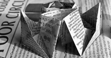 periódicos de papel