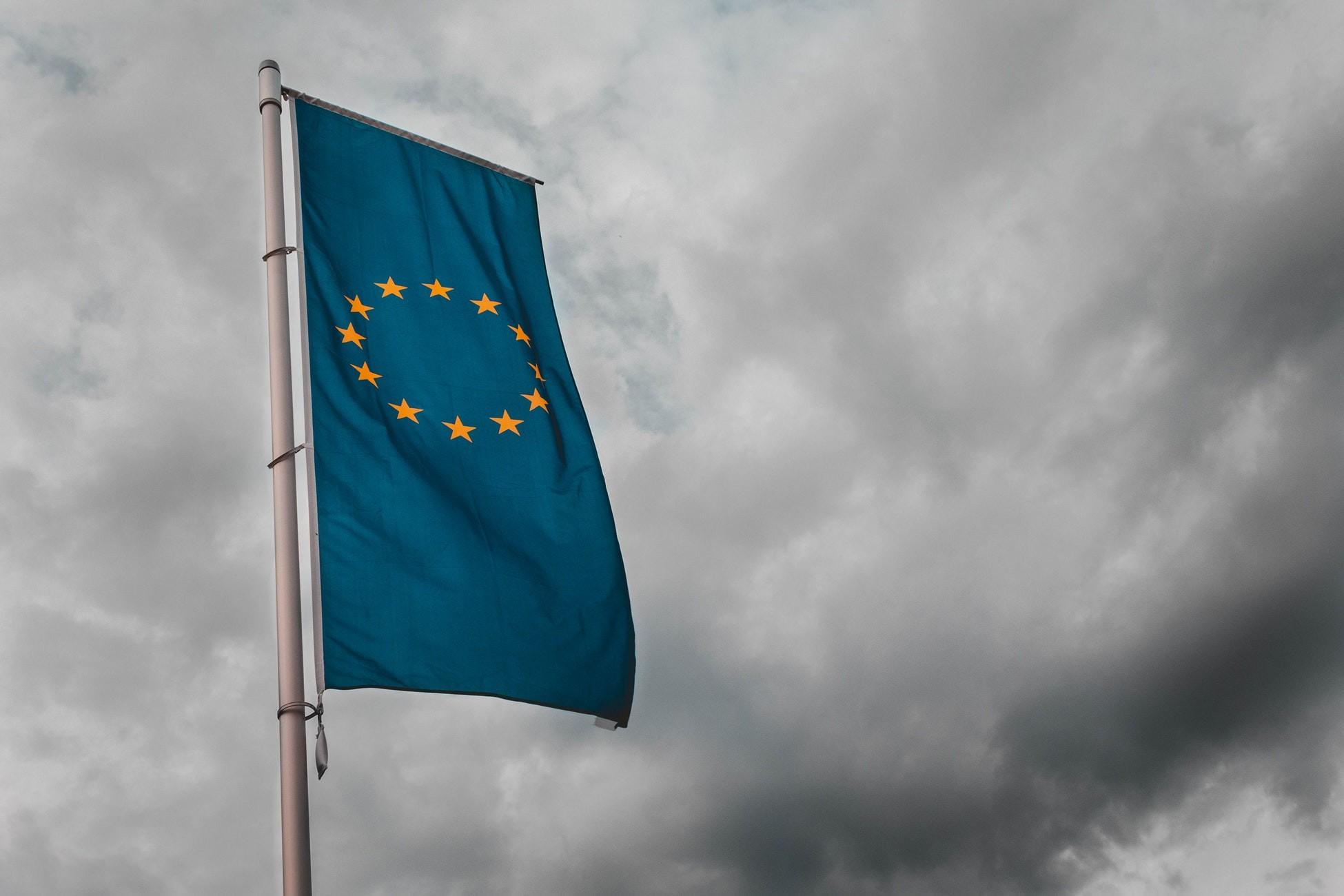 bandera europea libre de derechos