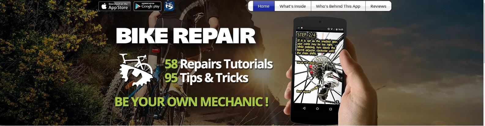 Bike Repair, una app para ciclistas