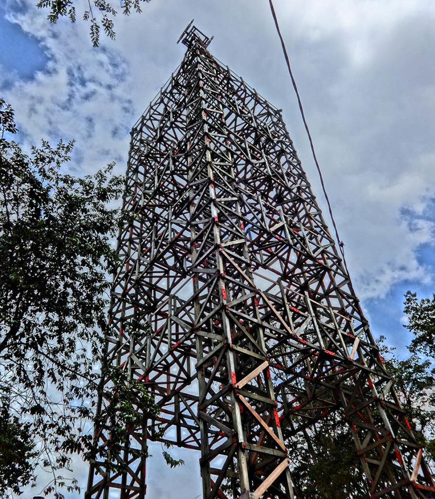 torre del cable aéreo de Manizales