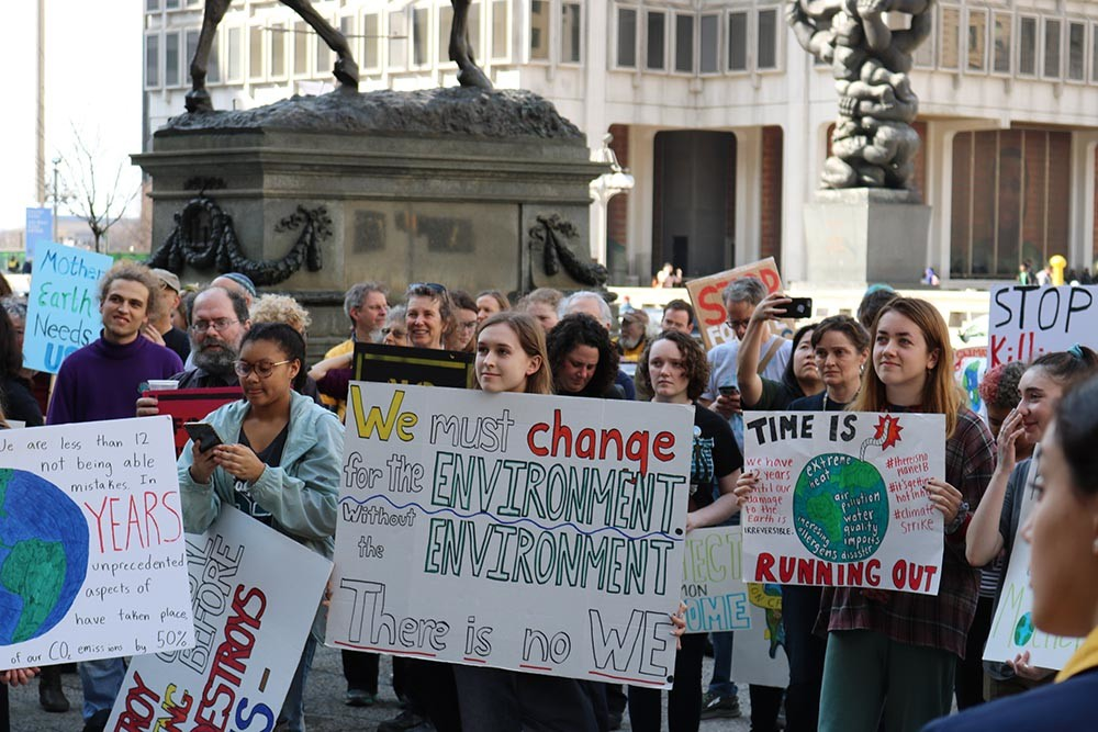protestas cambio climático