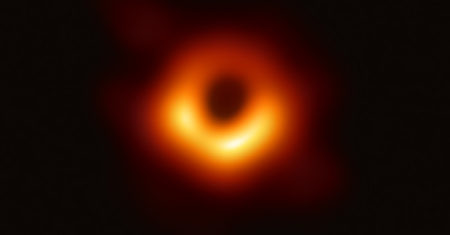 primera fotografia de un agujero negro supermasivo