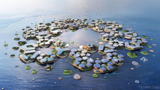 Oceanix City, la ciudad flotante y sostenible de la ONU