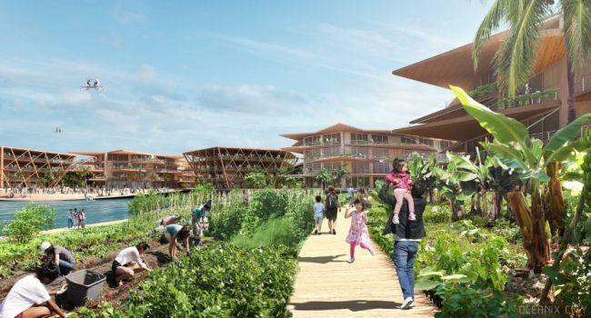 """""""Oceanix City, la ciudad flotante y sostenible de la ONU"""