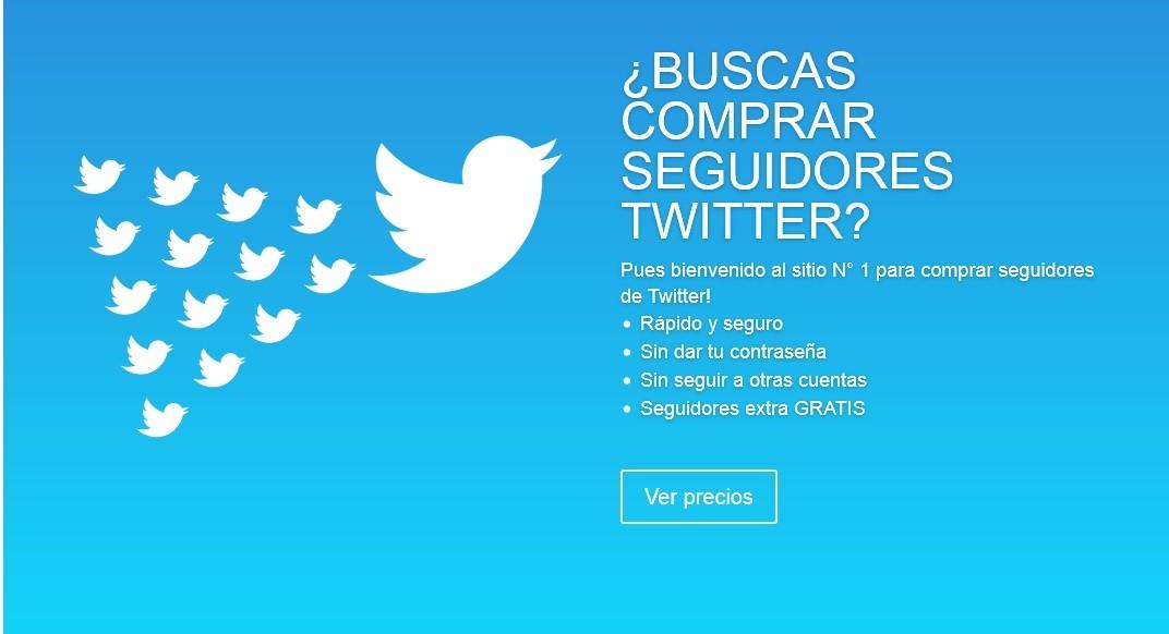 Comprar seguidores en Twitter es un práctica de astroturfing