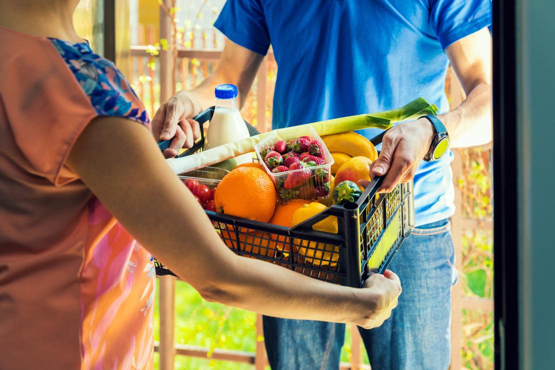 entrega desperdicio comida