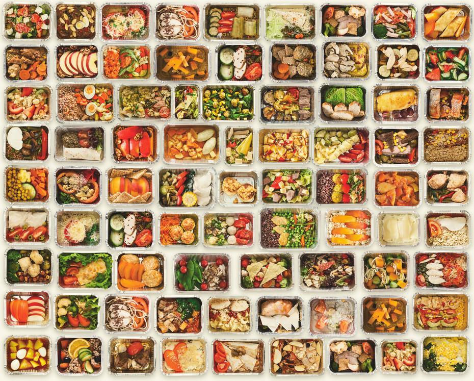 envases desperdicio comida