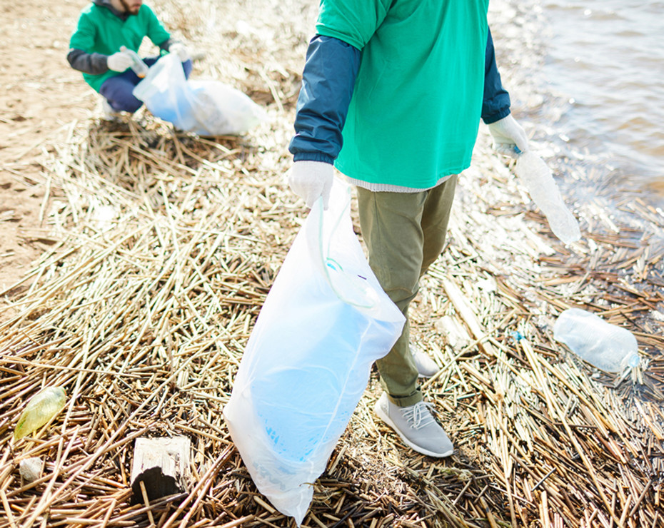 recogida basura plásticos