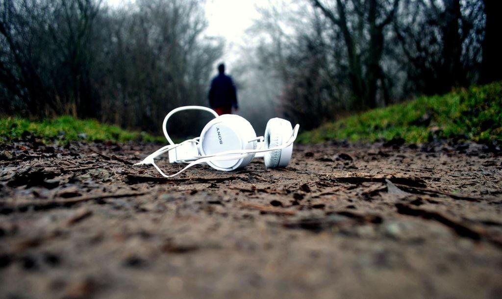 auriculares perdidos
