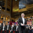 Martin Karplus en la ceremonia del Nobel