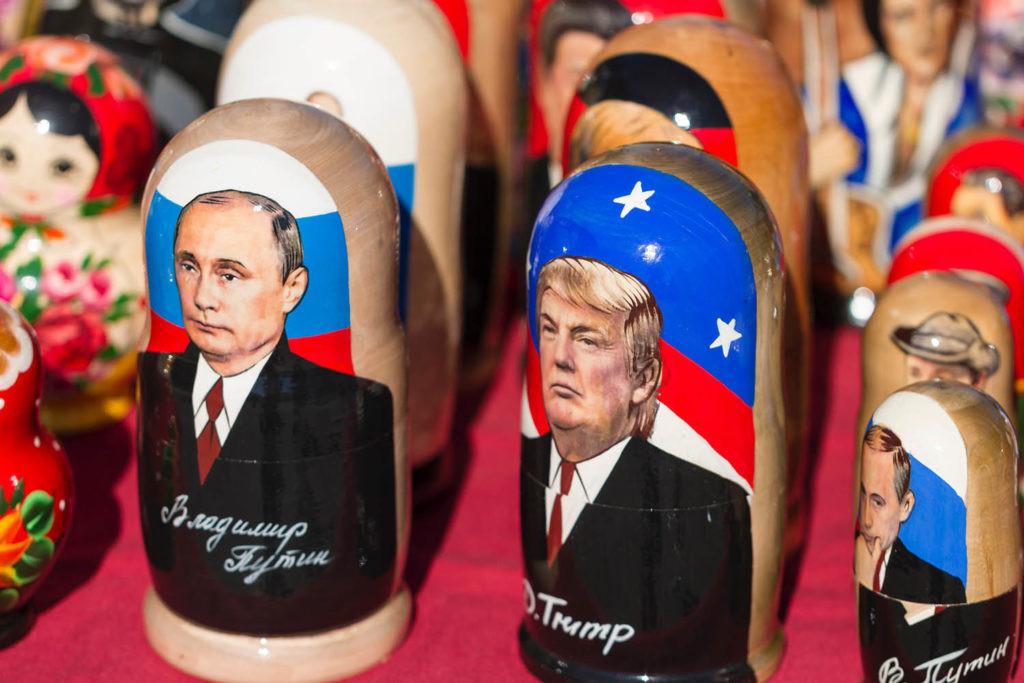 Trump y Putin en el tablero internacional
