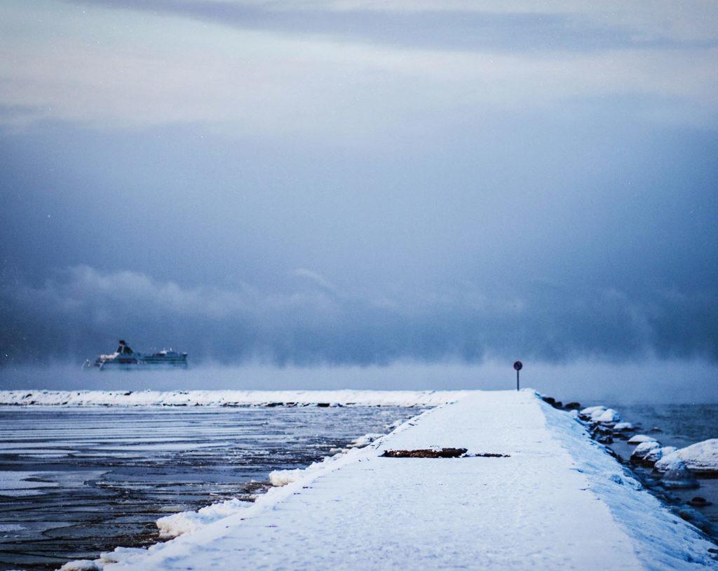 El deshielo provoca que se abran nuevas rutas marítimas en el Ártico.