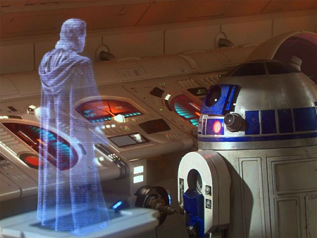 star wars holograma