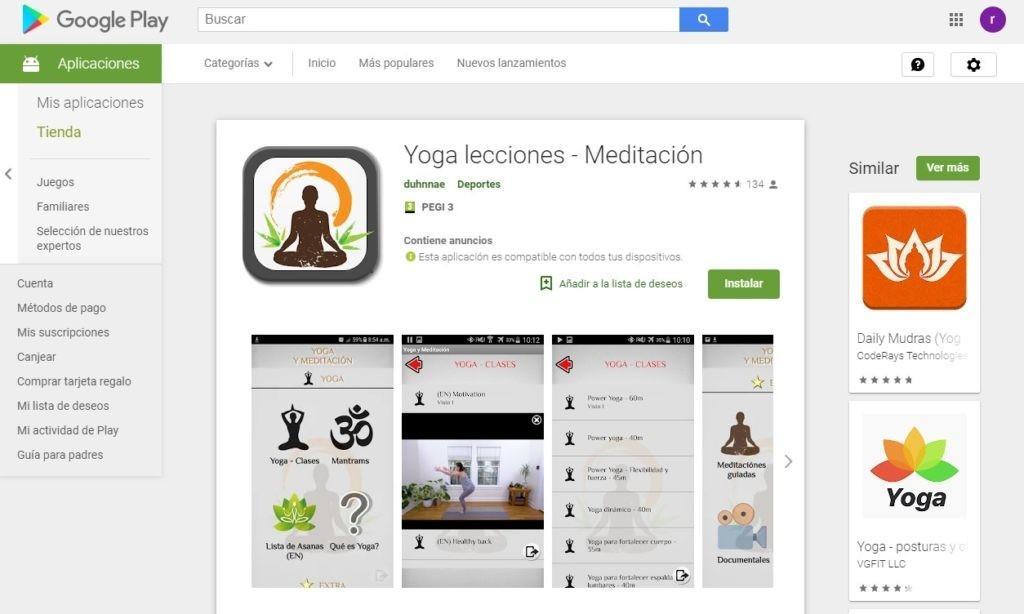 Yoga y meditación- Día Internacional del Yoga