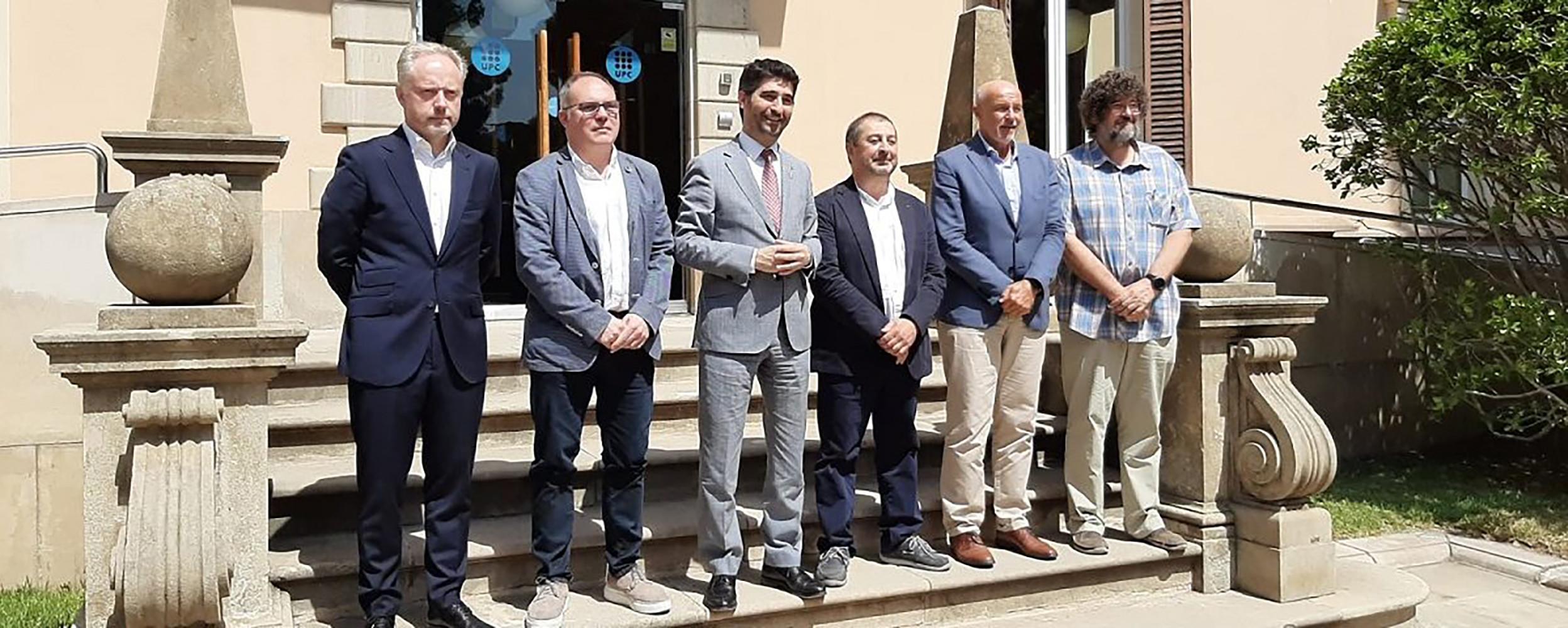Presentación del laboratorio abierto en Cataluña, experiencia pionera con 5G en Europa