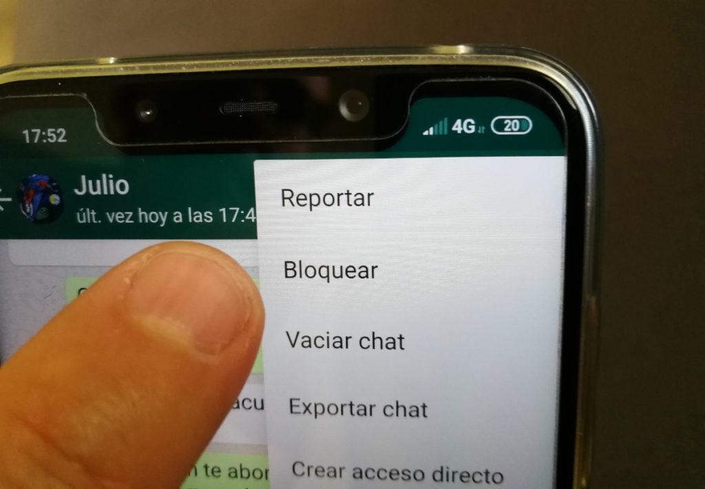Cómo bloquear Whatsapp
